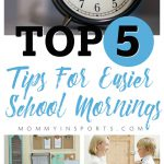 Not looking forward to the early mornings of back to school? Here are some ways to get into a routine and make back to school mornings easier for everyone!
