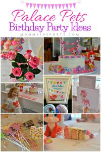 Throwing a big palace pets birthday party? Try one of these simple yet pretty homemade ideas to surprise your littlest princess!